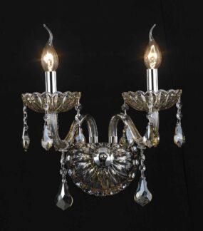 Kristall Kronleuchter, Luster, Applike 1,2,6,8 flammig