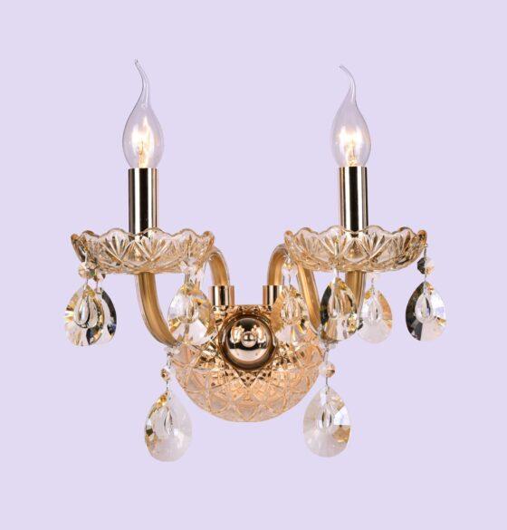 Kristall Kronleuchter, Luster, Applike Art 2012-1,2,3 flammig