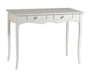 Schreibtisch weiß ausziehbar auf einer Seite